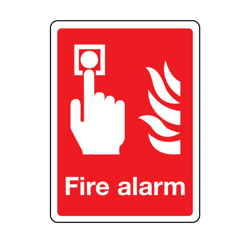 Fire Alarm Signage Suppliers