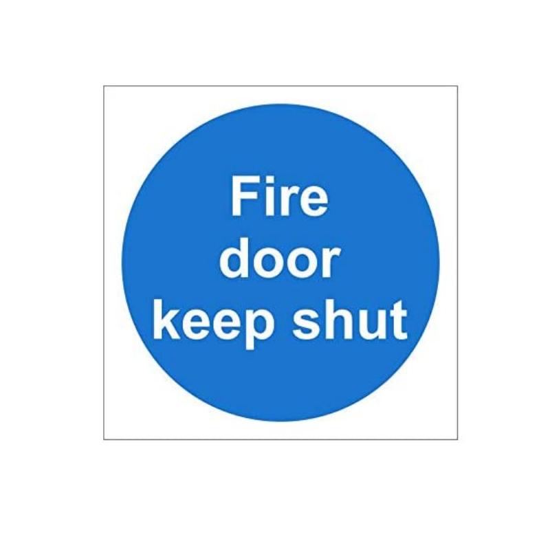 Fire Door Keep Shut Signage Suppliers